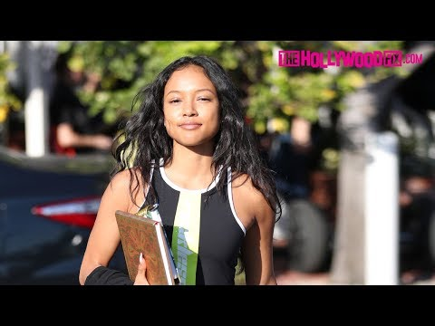 Karrueche Tran Is Asked About Chris Brown's Reaction To Her Dating Victor Cruz 12.19.17