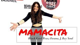 MAMACITA || Black Eyed Peas, Ozuna, J. Rey Soul || Choreography || Baile en linea | line dance|zumba