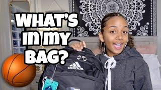 What's In My Basketball Bag 🏀 | LexiVee03
