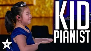 Professional Kid Pianist WOWS Judges on Kids Got Talent China | Got Talent Global