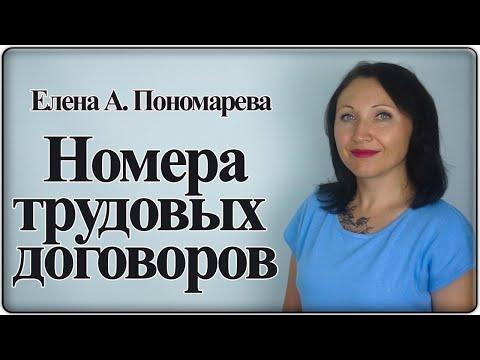 Как регистрировать трудовые договоры - Елена А. Пономарева