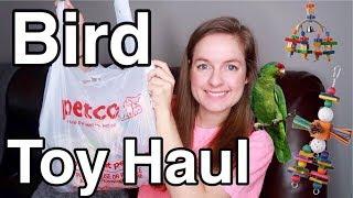 Pet Bird Supply Haul