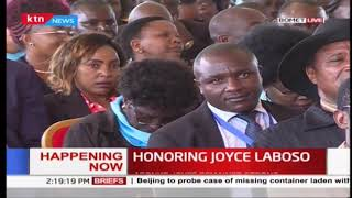 RAILA: How I met Joyce Laboso in 2016 at the Democratic Party convention