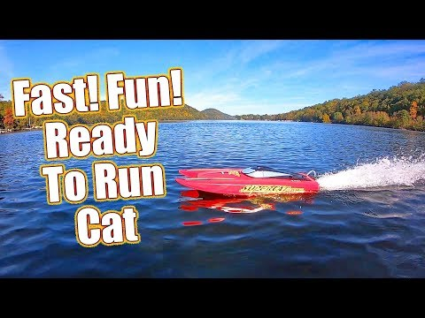 Fast Action On The Water! - Rage RC Super Cat 700BL Brushless RTR Boat Review | RC Driver