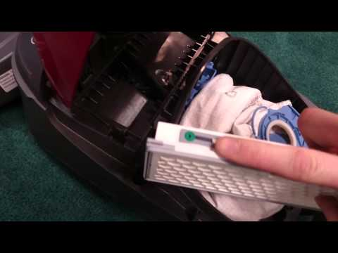 Changing a HEPA filter in a Miele C1 Subscribe Now for more Miele tips!