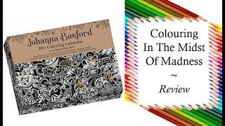 2019 page a day coloring calendar by johanna basford review and full flip through