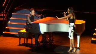 Alicia Keys - If I Ain't Got You with special guest Jessica Mauboy  Star Sydney 17/12/13