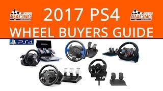 2017 PlayStation 4 Steering Wheel Buyers Guide