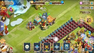 castle clash arena challange