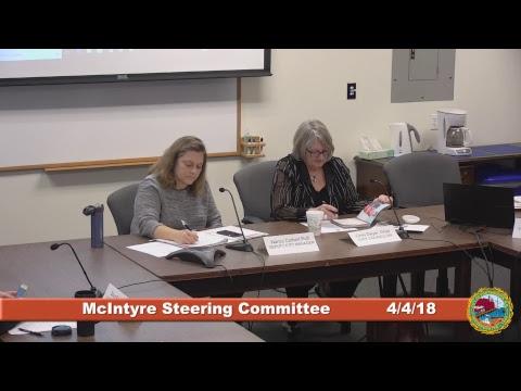 McIntyre Steering Committee 4.4.2018