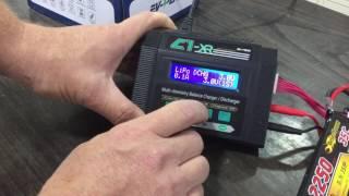 סרטון הדרכה לשימוש במטען סוללות ליפו מדגם EV-peak C1-XR