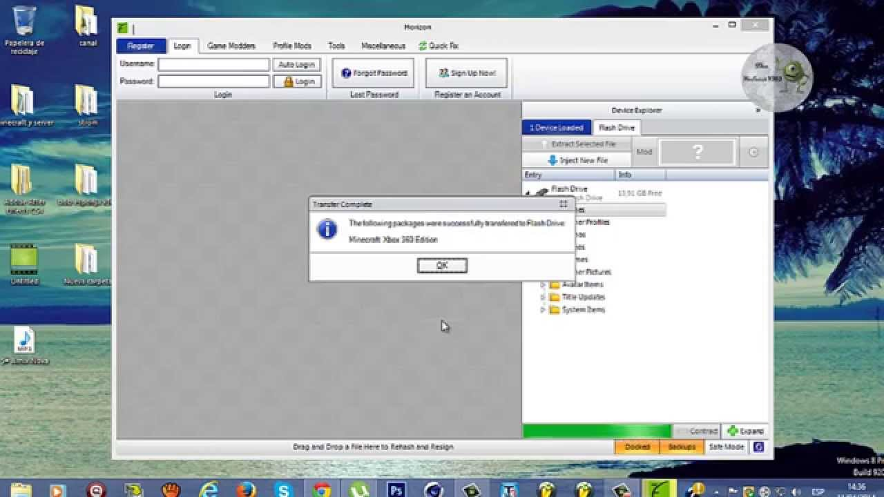 Como Descargar Minecraft Para Xbox 360 Completo Gratis Por USB