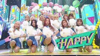 《Comeback Special》 WJSN(Cosmic Girls) (우주소녀) - HAPPY @인기가요 Inkigayo 20170611