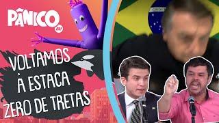 Nem Bolsonaro aguenta treta entre Adrilles e Marinho