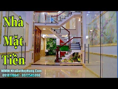 Nhà bán Gò Vấp| Nhà Mặt Tiền 4 lầu Kinh Doanh buôn bán sầm uất ở Nguyễn Oanh Giá Quá Rẻ 9.3 tỷ