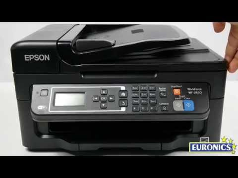 EPSON WORKFORCE WF-2630WF Nero/Opaca