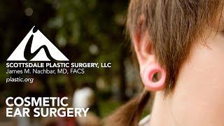 Ear Gauge And Earring Repair Cosmetic Surgeon—Scottsdale Plastic Surgery