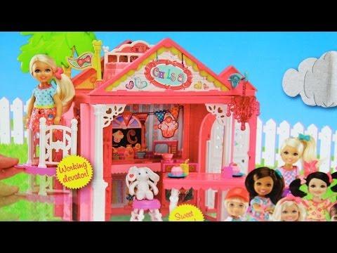 Barbie Chelsea Doll and Clubhouse Playset / Domek do Zabaw Chelsea - Barbie - www.MegaDyskont.pl