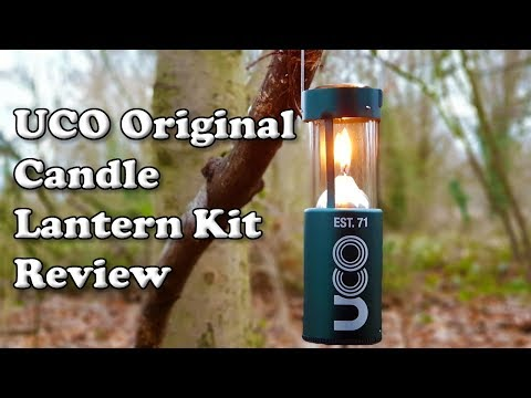 UCO Original Candle Lantern Kit Review 🏕🇬🇧 For Wild Camping & Bushcraft