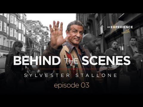 AEW Sylvester Stallone 2018 behind the Scenes EPISODE 3