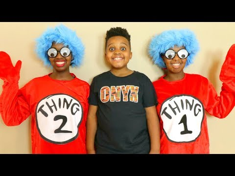 THING 1 AND THING 2 Come To Visit! - Onyx Kids