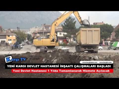 Yeni Kargı Devlet Hastanesi İnşaatı Çalışmaları Başladı - Kargihaber.com