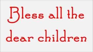 Glee - Away In A Manger (Lyrics) HD