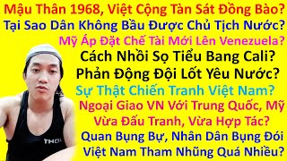 Mậu Thân 1968, Việt Cộng Tàn Sát Đồng Bào? Cách Nhồi Sọ Tiểu Bang Cali? Phản Động Đội Lốt Yêu Nước?