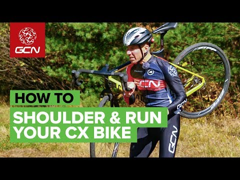 How To Shoulder & Run With Your Cyclocross Bike | CX Skills