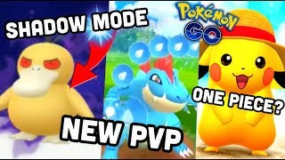 SHADOW POKEMON, NEW PVP MODE & 100% IV SEARCH IN POKEMON GO | ONE PIECE EVENT