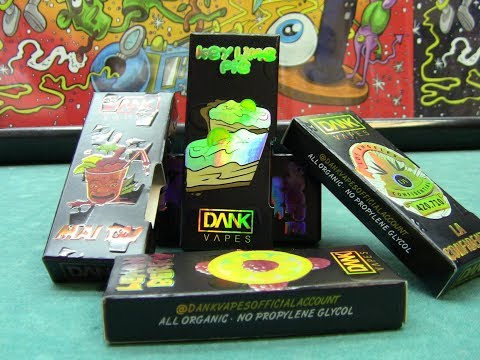 Dank vapes, Supreme, Exotic & Mario cartridges quick review