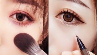 Eye Makeup Korean Natural Tutorial Compilation ♥ 2019 ♥ #95