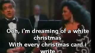 Diana Ross & Placido Domingo - White Christmas