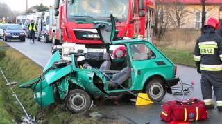 Wypadek na ul. Baczyńskiego w Krośnie