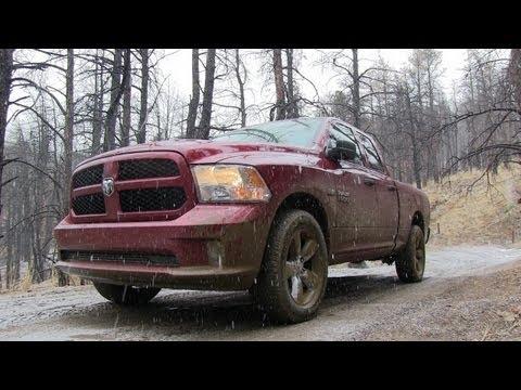 2013 HEMI Ram 1500 Snowy & Muddy Off-Road Review