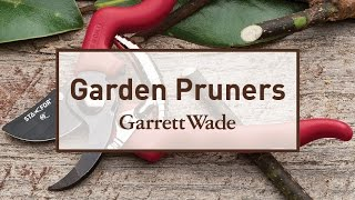 Explaining the Difference Between Garden Pruners
