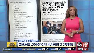 Tampa Job Fair On Wednesday Looks To Fill Hundreds Of Openings