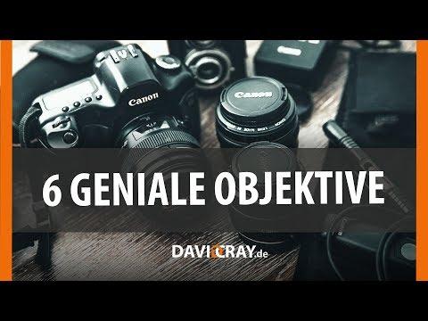 ⭐ 6 günstige Must-Have-Objektive für Canon (APS-C) ⭐📷 Meine Sammlung I David Cray