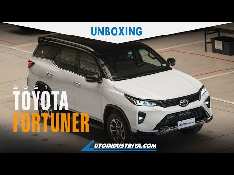 2021 Toyota Fortuner Redesign - Unboxing