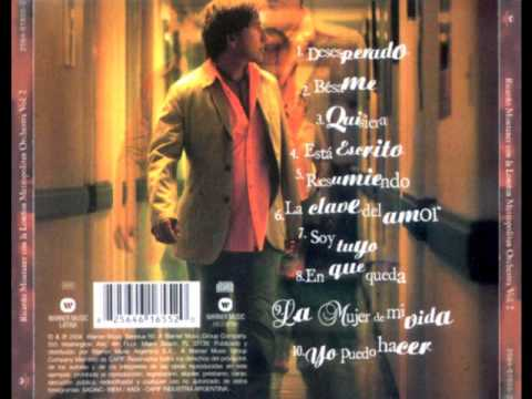 Desesperado Ricardo Montaner  con la London Metropolitan Orchestra 2004 (Audio)