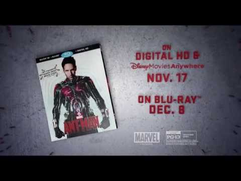 Get Ready for Marvel's Ant-Man on Blu-ray! | MTW