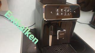 Philips EP2220 Enkalken reinigen warten damit der kaffee lange Zeit gut Schmeckt.