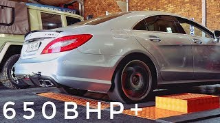 Eurocharged vs  DME Tuning M157's - W212 E63 S vs  C218