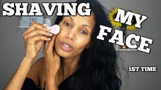 I Shave My Face | Tweezerman Dermaplaner 1st Impression