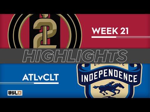 Atlanta United 2 - Шарлотт Индепенденс 2:2. Видеообзор матча 25.07.2019. Видео голов и опасных моментов игры