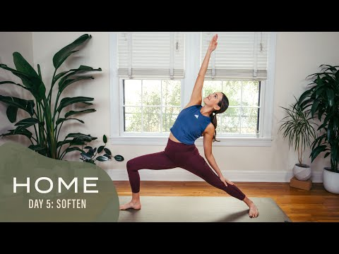 Home – Day 5 – Soften | 30 Days of Yoga With Adriene