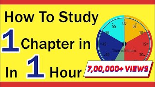 How to Study One Chapter in One Hour? | Study Skills | Board Exams 2021 | Letstute