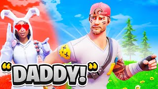 My Fortnite GIRLFRIEND Won't Stop Calling Me Daddy...