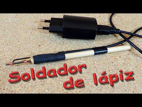 ✅ Cómo hacer un soldador de lápiz ¡Buena idea 2019!!! ✅