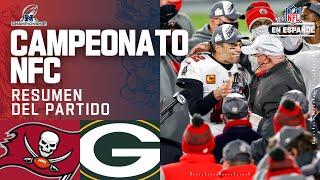 ¡Tom Brady y los Buccaneers jugarán el Super Bowl LV en casa!   Resumen   Campeonato NFC